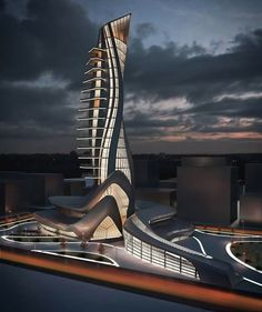 Futuristic Architecture Discover Best of Minimalist House Design 20 Architecture Résidentielle, Organic Architecture, Futuristic Architecture, Beautiful Architecture, Unusual Buildings, Great Buildings And Structures, Amazing Buildings, Modern Buildings, Modern Houses