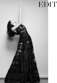 Blanca Li in ELIE SAAB RTW SS 2015 shot by Nico for Net-a-Porter's 'The Edit' | Editorial