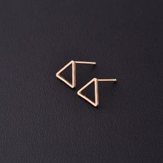 Gold Silver Ear Studs