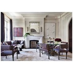 Eclectic Dining Room in New York, NY by Shawn Henderson Interior Design Interior Design New York, Top Interior Designers, Interior Sketch, Dining Room Sets, Dining Chairs, Dining Table, Image Deco, Innovation, Goa