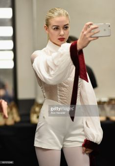 A model backstage during day four of Vancouver Fashion Week Fall/Winter 2017 at Chinese Cultural Centre of Greater Vancouver on March 2017 in Vancouver, Canada. Winter 2017, Fall Winter, Models Backstage, Cultural Center, 2017 Photos, Sample Resume, Vancouver, Centre, March