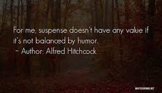 Alfred Hitchcock Quotes, Author, Writers