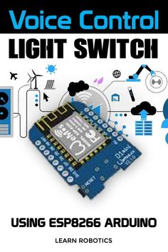 Control any light switch with voice commands. We'll show you how to build a voice controlled light switch using an ESP8266.