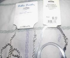 "2 Men's OR Women's NECKLACES CHAINS~24"" FRENCH ROPE & 24"" HERRINGBONE~New!"