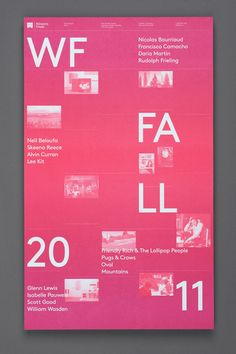 Western Front Fall Calendar, by Post-Projects (Canada)