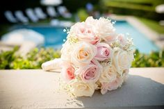 Bouquet vendela and pink avalanche roses