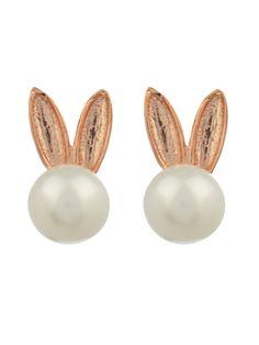 Bunny pearl earrings | Aamaya by Priyanka | MATCHESFASHION.COM