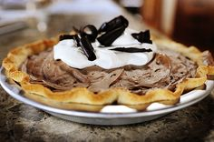 French Silk Pie by Ree Drummond / The Pioneer Woman, via Flickr