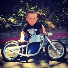 Tag a friend We offer FREE worldwide … – Baby Utensils Ideas Motorcycle Baby, Baby Bike, Bobber Motorcycle, Motorcycle Outfit, Mini Motorbike, Motorcycle Quotes, Toys For Boys, Kids Toys, Drift Trike