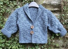 One Piece Baby Jacket Knitting pattern by Ruth Maddock | Knitting Patterns | LoveKnitting