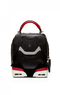 Alexander Wang Small Sneaker Bag In Black, Lacquer With Stingray // #Shopping