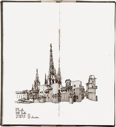 Urban Sketchers: Barcelona