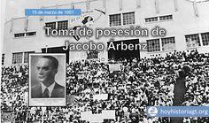15 de marzo de 1951: toma posesión del presidente Árbenz – Hoy en la Historia de Guatemala United Fruit Company, Photo Wall, Santa, The Unit, Presidents, Presidential Inauguration, Quetzaltenango, Guatemala City, Photograph