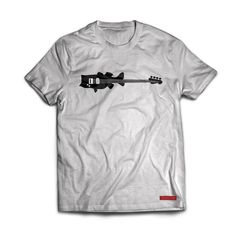 """Is it Bass Bass OR is it Bass Bass . For the avid bass fisherman who also like to """"slapa-da-bass"""" or for those who like a little humour, this shirt is for you. Fishing T Shirts, Bass, Mens Tops, Sunshine, Outdoors, Change, Sunset, Rock, School"""