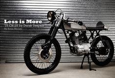 CB125 by Derek Despain - Iron & Air Magazine