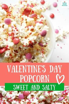 Salty and sweet make the perfect combination in this chocolatey Valentine's Day popcorn. A simple treat to make for a classroom party or to share with those you love. #valentinesday #popcornrecipe #howtomakevalentinesdaypopcorn #valentinesdessert #valentinesdayfood My Funny Valentine, Valentines Day Treats, Kids Valentines, Valentine Recipes, Valentine Party, Valentine Cookies, Easter Recipes, Chocolate Sticks, Melting Chocolate