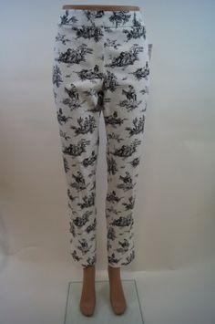 Elliott Lauren Toile Pants, Made in the USA
