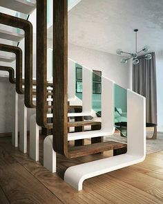 Modern Staircase Design Ideas - Modern stairs can be found in many styles and designs that can be actual eye-catcher in the various location. We have actually put together finest 10 modern models of stairs that can offer.