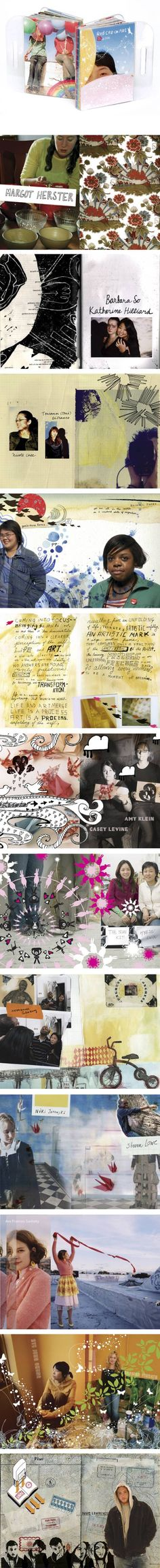Love this, love the collage-y-ness  I already pinned this once but it's totally thrown together.