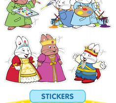 Max and Ruby stickers