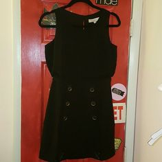 Great  little black  dress This one is a really adorable dress. Can't really show the details of it. Not able to capture on my pictures. LOFT Dresses Mini