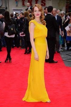 Emma Stone in Versace