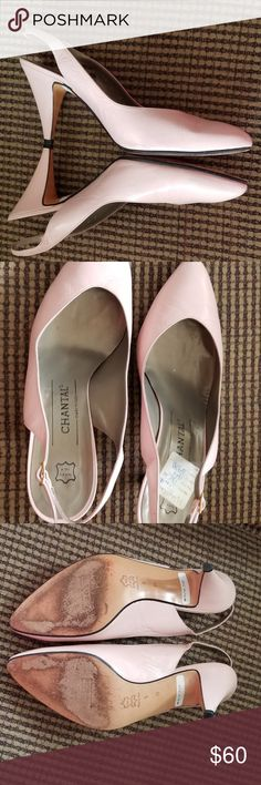 I just added this listing on Poshmark: 9M Slingback Pale Pink with Pointed Toes. #shopmycloset #poshmark #fashion #shopping #style #forsale #Chantal #Shoes