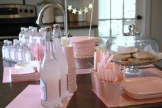 Simple girly pink party...perfect!
