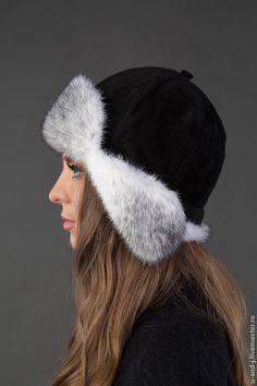Fur Hats, Women's Hats, Head Coverings, Hats For Women, Style Guides, Shawl, Winter Hats, Crochet, Fashion