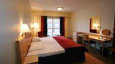 Standard room in Scandic Rovaniemi, Lapland, Finland