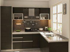 Malta L-shaped Modular Kitchen