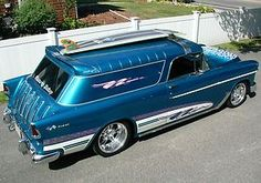 55 Chevy Delivery Wagon