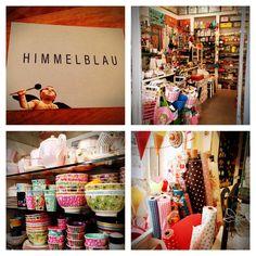HIMMELBLAU - ein hübscher Laden in München mit Stoffen, Deko, Geschenkartikeln und vielem mehr!