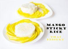Sticky Rice Thai, Mango Sticky Rice, Breakfast, Food, Morning Coffee, Meal, Essen, Hoods, Meals