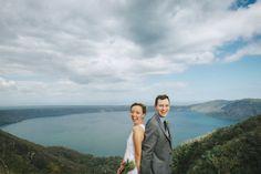In Catarina, Nicaragua at the top of Laguna de Apollo. #destinationwedding #nicaragua  Brad & Nicole's wedding photos shot by Hitch and Sparrow Wedding Co.