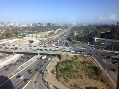 City of Los Angeles w California