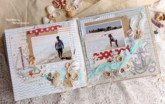 ScrapMir: Морской альбом от Марины Игнатовой