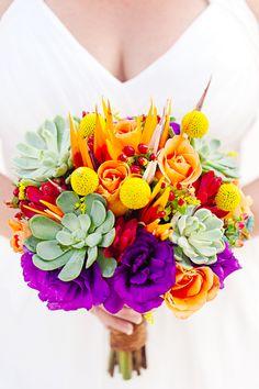 A Colorful Destination Wedding In Mexico - The Coordinated Bride