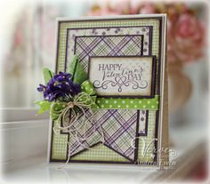 Card by Andrea Ewen using More than Love from Verve.  #vervestamps