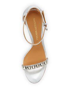 Badgley Mischka Elope II Crystal Leather Sandal ab49676b0e2