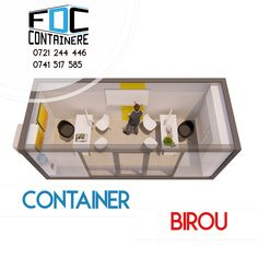 Birou dintr-un singur container, cu vitrina de 3m lungime, spatiu de birou eficient, reprezentanta mobila, birou mobil. Imagine de perspectiva.   Disponibil si pe www.containere-fdc.ro  #modular #modularbuilding #modularconstruction #smartbuilding #officespace #officedesign #officedesigntrends #3dmodeling #containeroffice #containeroffices #containerbuilding #modularcontainer #modularoffice #modulardesign #modulararchitecture