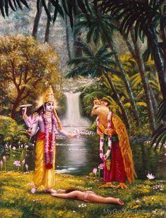 Lord Vishnu And Lord Garuda Krishna Lila, Krishna Radha, Hanuman, Krishna Avatar, Lord Rama Images, Lord Shiva Family, Lord Krishna Wallpapers, Lord Krishna Images, Krishna Painting