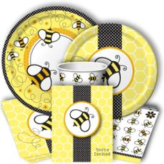 Bee party theme - www.discountpartysupplies.com