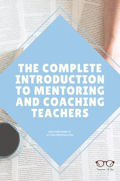 Mentoring and coaching teachers is essential within our jobs. But what is the difference? What makes a good mentor or coach? What are the long term benefits? This article covers all the answers to YOUR questions! High School Classroom, High School Students, Health Teacher, Teaching Secondary, New Teachers, Teaching Tips, Elementary Schools, Coaching, Middle School