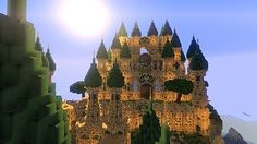 Palace Artemisia Minecraft World Save Amazing Minecraft, How To Play Minecraft, Minecraft Stuff, Minecraft Ideas, Minecraft Creations, Minecraft Designs, Sandbox, Minecraft Buildings, Clash Of Clans