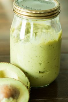 Perfect for dipping taquitos or smothering enchiladas this avocado enchilada sauce is a new favorite!