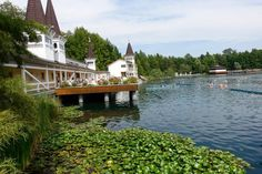 Am berühmten Thermalsee in Bad Heviz At the famous thermal lake in Bad Heviz Beautiful Places In The World, Health And Wellness, Mansions, House Styles, Nutrition, Travel, Hungary, Feel Better, Places