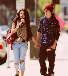 Selena Gomez and Justin Bieber  ll #Jelena
