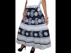 Eye-catching color combination of long maxi Skirt Contains hand block print Work. This short wrap skirt with Vintage Style looks so cute & Sexy! Beach Wrap Skirt, Long Maxi Skirts, Color Combinations, Vintage Fashion, Sexy, Cotton, Women, Style, Color Combos