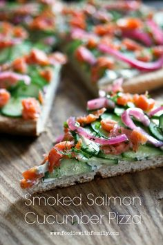 Smoked Salmon Cucumb